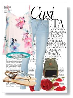 """""""casual"""" by bubbleness-984 on Polyvore featuring Frame Denim, Dorothy Perkins, Billabong, Sambag, Phillip Gavriel and Whiteley"""