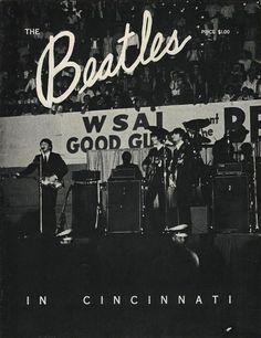 The Beatles in Cincinnati, summer of 1964
