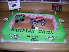 Image detail for -monster truck cake by Tiffany29 on Cake Central