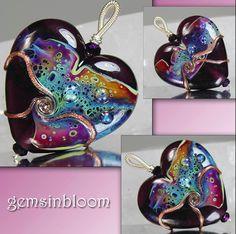 Jacqueline Parkes #lampwork #beads