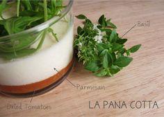 Panacotta parmesan, tomates confites et basilic - (with recipe) / pigallejailadalle.com