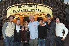 I met all the Goonies and Richard Dooner in Astoria for the 25th Goonies anniversary. :)