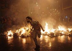 Bild des Tages: Gewaltausbruch bei Demos in Rio de Janeiro - SPIEGEL ONLINE