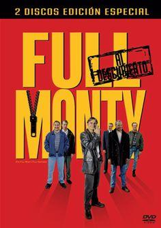 DVD CINE 1353 - Full Monty (1997) Gran Bretaña. Dir: Peter Cattaneo. Drama. Comedia. Sinopse: o peche da fábrica de aceiro de Yorkshire deixa sen traballo a case toda a poboación masculina. Gaz, un dos obreiros afectados, perderá o dereito de ver ao seu fillo se non consegue diñeiro para pagar a pensión de manutención. De modo que lle expón unha disparatada idea aos seus compañeiros: organizar un espectáculo de strip-tease