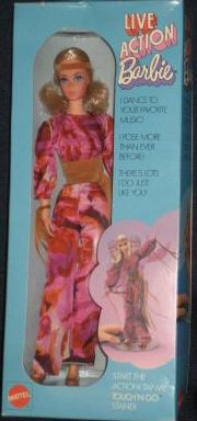 Vintage Live Action Barbie Doll - this is the one I got the Christmas it came out!
