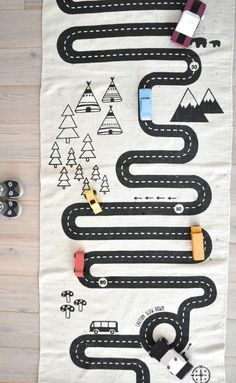 OYOY Adventure rug