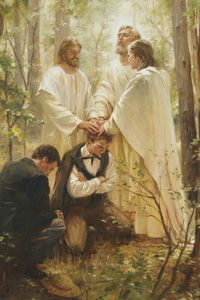 "The keys of the priesthood, held by our beloved prophet, President Thomas S. Monson, and every other prophet and President of the Church, entitle him to revelation in behalf of the entire Church. This Church is ""living"" because we have prophets who continue to give us the word of the Lord that is needed for our time. ~Dallin H. Oaks"