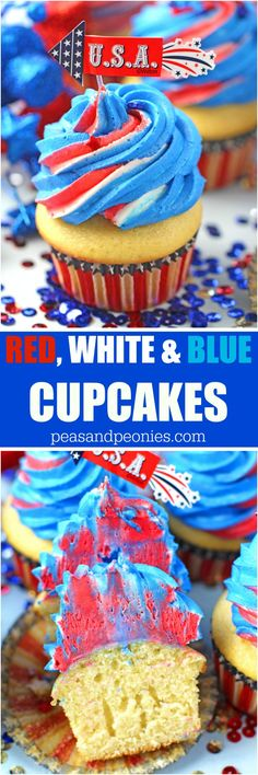 Red White and Blue P