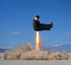 Kim Jong un bending over