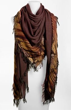 Nordstrom Collection Snake Print Scarf available at #Nordstrom