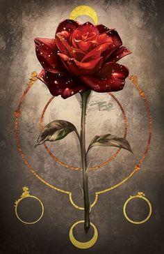 Flower Wallpaper, Galaxy Wallpaper, Wattpad Cover Template, Rose Art, Pretty Wallpapers, Belle Photo, Aesthetic Wallpapers, Illustrators, Beautiful Flowers