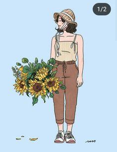 Love Illustration, Character Illustration, Anime People Drawings, Cute Couple Art, China Art, Cartoon Art, Cute Drawings, Anime Manga, Cute Art