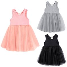 >> Click to Buy << Cute Solid Sleeveless Lace Girls Princess Dress Kid Baby Party Wedding Pageant Formal Dresses Clothes #Affiliate