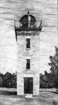 """Penninsula Point Lighthouse - Michigan"""