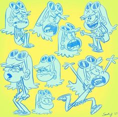 Leni Loud - Some sketches about me