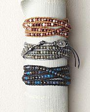 chan luu bracelets.  For when I'm in a Rock Star sort of mood!
