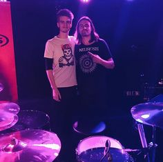 Had the sickest day. So cool to hang out with Jay Weinberg and the SJC guys, definitely one for the memories Jay Weinberg, All We Know, Slipknot, Hanging Out, Drums, Kicks, Memories, Concert, Instagram Posts