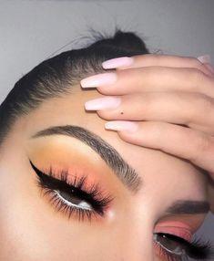 Sweet Ideal Makeup Ideas to Try - Make Up Time Glam Makeup, Cute Makeup, Skin Makeup, Eyeshadow Makeup, Makeup Inspo, Makeup Inspiration, Pink Eyeshadow, Eyeshadow Ideas, Eyeshadows