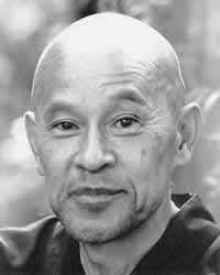 """Shunryu Suzuki  """"Treat every moment as your last. It is not preparation for something else.""""  """"Nothing we see or hear is perfect. But right there in the imperfection is perfect reality."""""""
