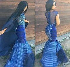 shweshwe dresses gallery 2017 / 2018 - style you 7 South African Traditional Dresses, Traditional Dresses Designs, Traditional Wedding Dresses, Traditional Outfits, Traditional Fabric, Traditional Weddings, African Dresses For Women, African Attire, African Fashion Dresses