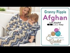 Granny Ripple Afghan + Tutorial - The Crochet Crowd