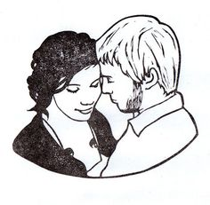 Couple portrait stamp | Flickr - Photo Sharing!
