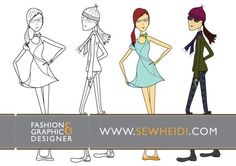 fashion,croquis,sketch,illustration,clothing,apparel,pattern,template