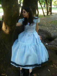 El vestido de Alice in Wonderland