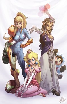 The Ladies of Nintendo