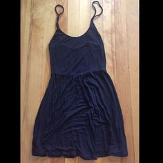 Black Brandy Melville Cotton Dress