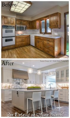 Kitchen Remodel before and after Best Of before & after Home Renovation with Home Bunch Home Design, Interior Design, Diy Kitchen, Kitchen Decor, Kitchen Ideas, 10x10 Kitchen, Updated Kitchen, Shaker Kitchen, Kitchen Interior