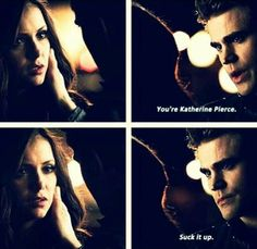 I loved this part. Proof thay everyone knows Katherine is a strong fighter