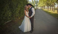Heartland actress Amber Marshall's rustic ranch wedding