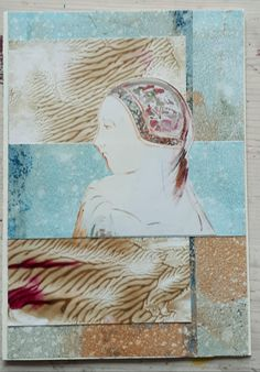 Mixed Media, Collage, Waves, Artwork, Painting, Work Of Art, Painting Art, Collage Art, Paint