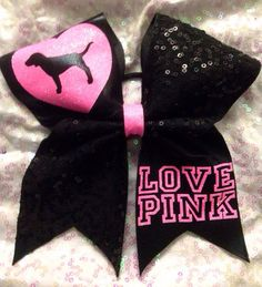 Hey, I found this really awesome Etsy listing at https://www.etsy.com/listing/207560436/love-pink-cheer-bow