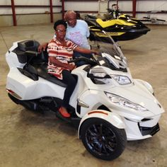 Thanks to The Lott family from Florence MS for getting a 2014 Can Am Spyder RTS at Hattiesburg Cycles
