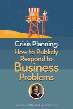 Crisis Planning: How to publicly respond to business problems (including social media trolls) Social Media Marketing Business, Social Media Tips, Content Marketing, Affiliate Marketing, Online Business, Business Tips, Digital Marketing, Business Coaching, Seo Marketing