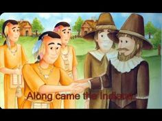 Let's Have a Dinner (w/ history). Its a video and a song for kids to learn about the first Thanksgiving