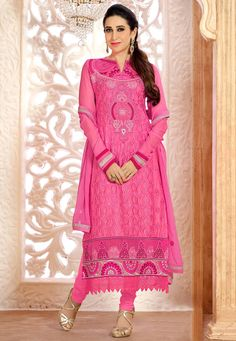 Women's Salwar Kameez Online In Bangladesh Saris, Western Dresses Online, Bollywood Suits, Salwar Kameez Online Shopping, Inspirational Celebrities, Saree Dress, Celebrity Look, Straight Cut, Suit Fashion