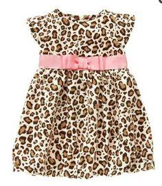 new fashion cotton baby summer girl princess leopard dresses $9.80
