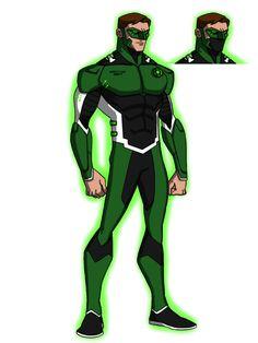 Hal Jordan GL Redesign by KingLeonUniverse.deviantart.com on @DeviantArt
