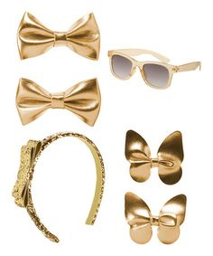 Look what I found on #zulily! Gold Accessory Set #zulilyfinds