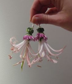 flower earrings !!!!!!!!!!! OMG too fab for words