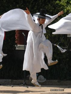 .Korean Crane Dance.
