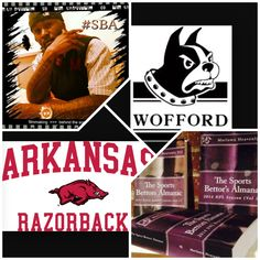 """3/19/15 NCAAB #MarchMadness : #Wofford #Terriers vs #Arkansas #Razorbacks (Take: Wofford +7.5,Over 136) (THIS IS NOT A SPECIAL PICK ) """"The Sports Bettors Almanac"""" SPORTS BETTING ADVICE  On  95% of regular season games ATS including Over/Under   1.) """"The Sports Bettors Almanac"""" available at www.Amazon.com  2.) Check for updates   My Sports Betting System Is an Analytical Based Formula   """"The Ratio of Luck""""  R-P+H ±Y(2)÷PF(1.618)×U(3.14) = Ratio Of Luck  Marlawn Heavenly VII (…"""