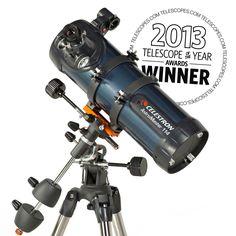 Have to have it. Celestron AstroMaster 114 EQ Reflector Telescope $149.00