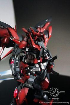 MG 1/100 Gundam Exia Dark Matter - Painted Build