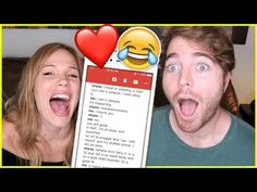 READING OUR TEXT CONVERSATIONS with SHANE DAWSON! - YouTube