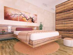 """Bedroom Design: """"Bedroom"""" - Mojca Hribar   http://www.behance.net/gallery/bedroom/2135698"""