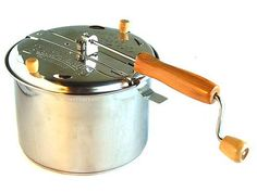 Stovetop Popper  coffee roaster  Method